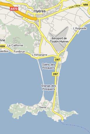 Plan DAcces  Location De Vacances Dans Le Var